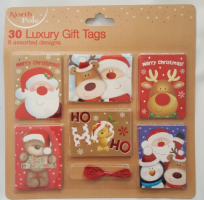 Luxury Christmas Gift Tags (30)